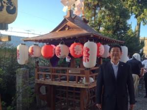 桜井市川合 お祭り